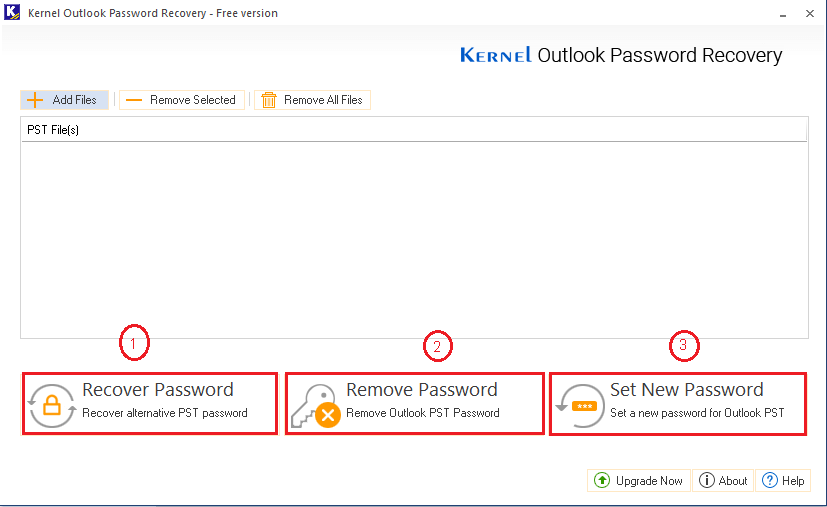Kernel Outlook Password Recovery Software